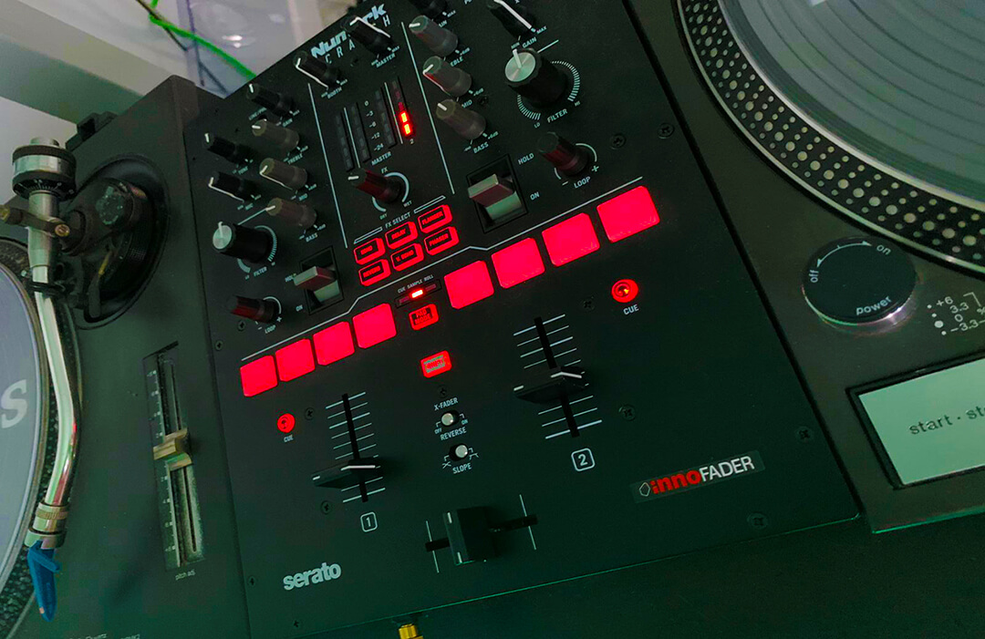 Serato enabled mixing